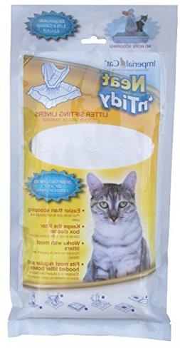 "Imperial Cat Neat and Tidy,28 Litter Sifting Liners, 36"" x 4"