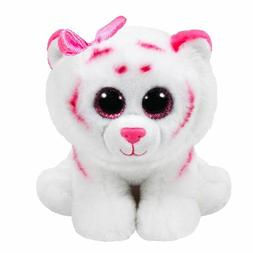 """NEW Ty Beanie Boos Purrcilla the Cat with Pink Bow 6"""""""