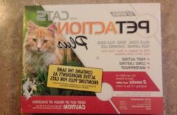 New PetAction Plus Flea  Tick Treatment for Cats  3 MONTH