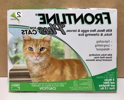 New Frontline Plus For Cats & Kittens kill Fleas & Tick 2 Mo
