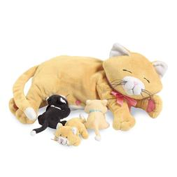 Manhattan Toy Nursing Nina Cat Nurturing Soft stuffed animal