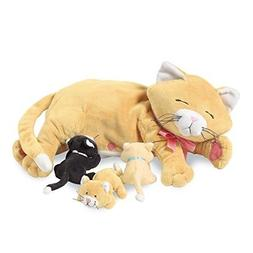 Manhattan Toy Nursing Nina Cat Nurturing Soft Toy for Girls,