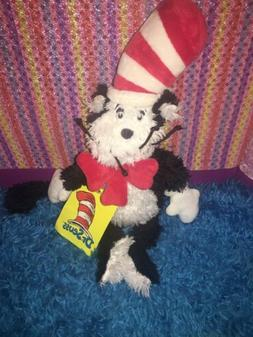 """NWT-12"""" Dr. Seuss Cat in The Hat Soft Toddler Toy Stuffed"""