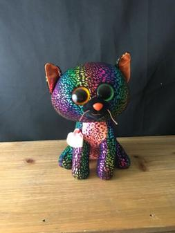 """TY NWT NEW 9"""" SPELLBOUND THE HALLOWEEN CAT BEANIE BOOS CLAIR"""