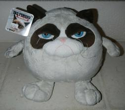 "NWT Ganz Plush Grumpy Cat Think Grumpy 10"" Ball Stuffed Anim"