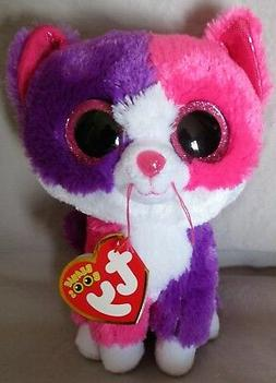 """Pellie the Cat - Ty 6 """" Beanie Boos - NEW with MINT TAGS  Cl"""