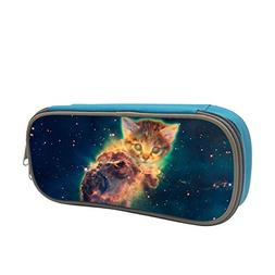 Pencil Case Space Cat Big Capacity Pencil Holders Stationery
