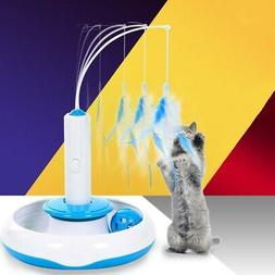 pet cat teaser interactive cats toy electric