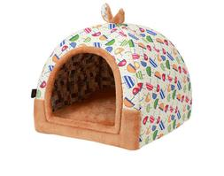Pet Cave / Tent Bed for Dogs and Cats