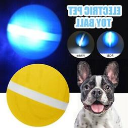 Pet Electric Ball LED Rolling Flash Ball Interactive Toys Fo