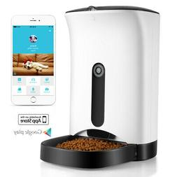 Pet Feeder for Cat Dog Animal w/ Wifi App for iOS Android Pr