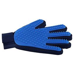 Pet Hair Remover Glove - Gentle Pet Grooming Glove Brush - D