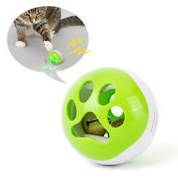 Pet Interactive Toy For Cats Kitten Chase Toy Luminous Squea