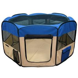 Best Choice Products Pet Puppy Dog Playpen Exercise Pen Kenn