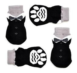 Posch Pet Socks for Dogs and Cats. Anti-Slip Knit Socks with