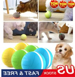 Pet Toy For Dogs Cats Smart Toy Ball LED Light Flashing Boun