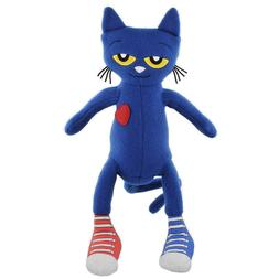 MerryMakers Pete The Cat Plush Doll Stuffed Toy Safe For All