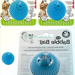 PetQwerks Talking Babble Ball Toy for Dogs and Cats, Small -