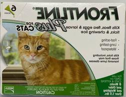 Frontline Plus Flea and Tick Control for Cats and Kittens, 6