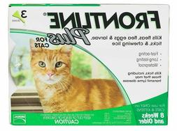 plus for cats 3 pack green new