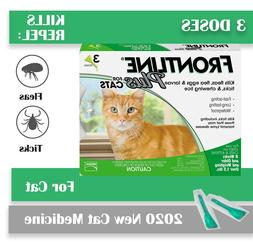 Frontline Plus for Cats and Kittens Flea and Tick Treatment,