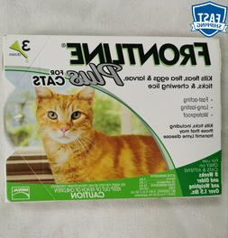 Frontline Plus For Cats & Kittens Flea and Tick Control and