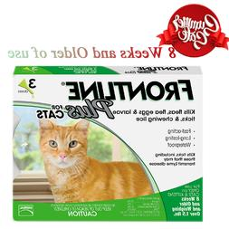 Frontline Plus for Cats and Kittens over 1.5 Ibs Flea and Ti