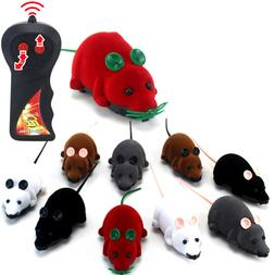 RC Funny Wireless Electronic Remote Control Mouse Rat Pets T
