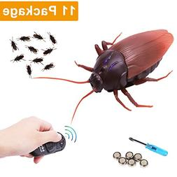 RC Infrared Remote Control Cockroach, Novelty Fake Plastic R