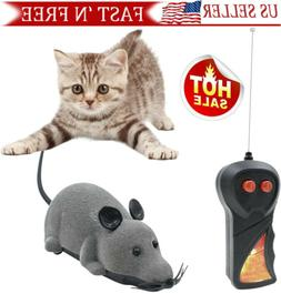 Remote Control Rat Mouse  Wireless mice Toy  For Cat Dog Pet