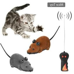 Remote Control RC Rat Mouse Wireless For Cat Dog Pet Toy Nov