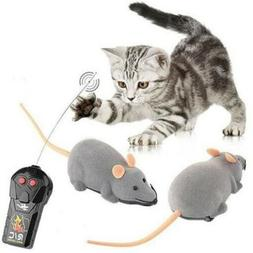 Remote Control RC Rat Mouse Wireless For Cat Dog Pet Funny I