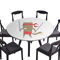 round tablecloths crime fighter ninja