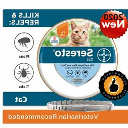 Bayer Seresto Flea and Tick Collar for Cat 8 Months Protecti