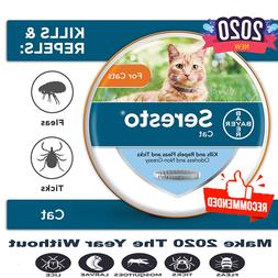 Bayer Seresto flea and tick collar for Cats,new,supply for 8