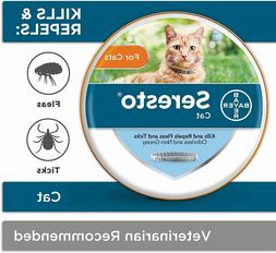Seresto Flea and Tick Prevention for Cats, 8-Month Flea Coll