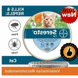 Bayer Seresto Flea Collar for Cats 8 Months and Tick Prevent