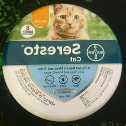 Bayer Seresto Flea Tick Collar for Cat 8 Month Protection Ad