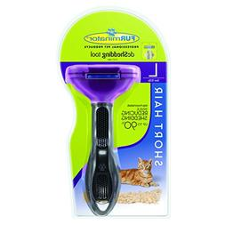 FURminator Short Hair deShedding Tool for Cats, Large