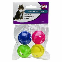Ethical Slotted Balls Cat Toy, 4-Pack