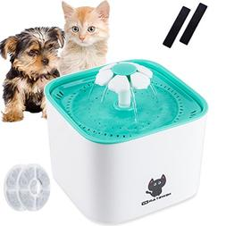 Ruipower Cat Water Fountain, Automatic Electric Pet Dog Wate