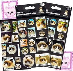 Grumpy Cat Stickers Party Favor Pack