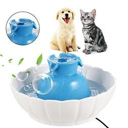 Lantusi Super Silent Pets Ceramic Watter Fountain for Dogs o