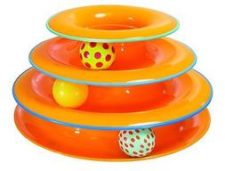 Tower Of Tracks Ball And Track Interactive Toy For Cats, Fun