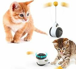 Tumbler Swing Toys for Cats Interactive Balance Car Cat Chas