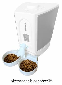Two-Way Splitter & Two Bowl Attachment -- for Pet Feedster P