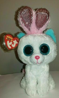 Ty Beanie Boos - PURR-LY the Easter Cat  NEW