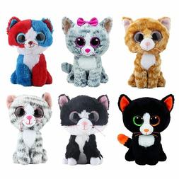 1f81a445725 Ty Beanie Boos Stuffed Plush Animals Black Cat Doll Toys fo