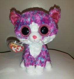 """Ty Beanie Boos - CHARLOTTE the 6"""" Cat ~ Exclusive ~ 2016 BRA"""
