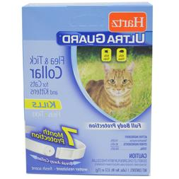 Hartz UltraGuard Flea & Tick Cat and Kitten Collar, White 1